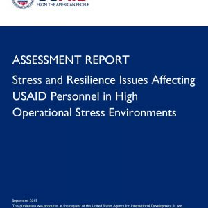 US Aid Assessment Report