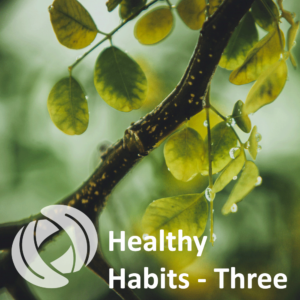 Enjoying Success, Healthy Habits-Part 3
