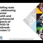 Frontline Worker Wellbeing for Global COVID-19 Responses -- IASC Briefing Note